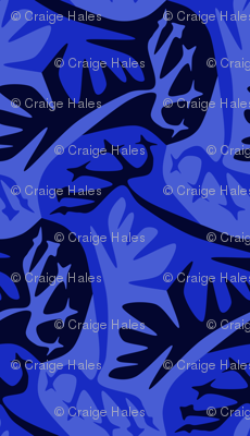 navy blue umbrella