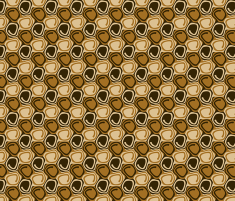 cinnamon buns fabric by craige on Spoonflower - custom fabric
