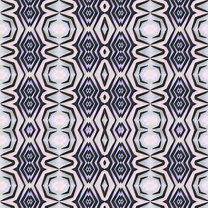 Navy geometric