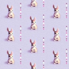 Bunny Sweet Purple Tribal