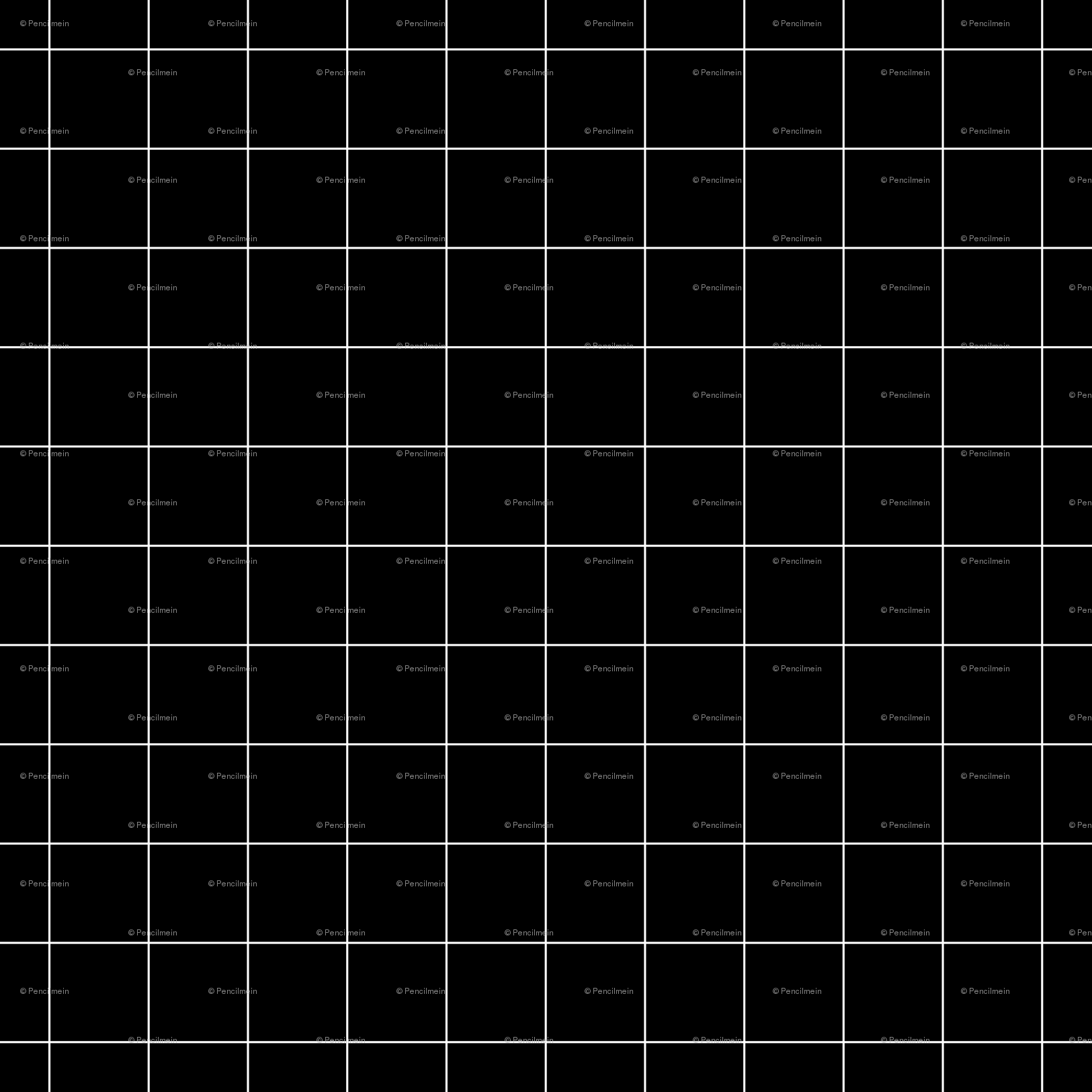 Black And White Grid Small Reverse Wallpaper