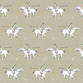 Polo on Linen