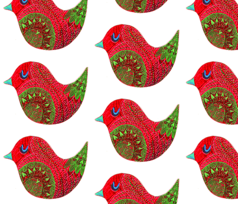 Home for Christmas fabric by susanna_sinivirta on Spoonflower - custom fabric