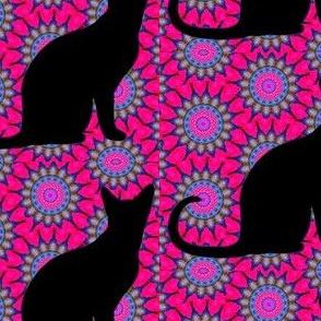 Cat Damask 18