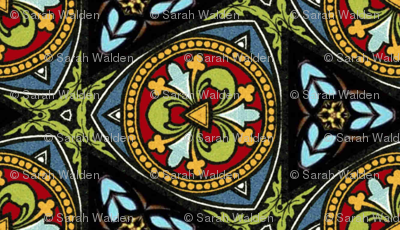 Stained Glass ~ Poppa
