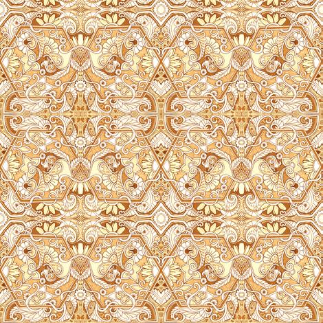 Henna Meadows fabric by edsel2084 on Spoonflower - custom fabric