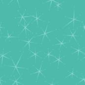 Chrome Crush Stars - Aqua