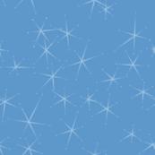 Chrome Crush Stars - Blue