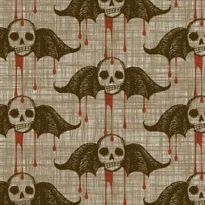 Bleeding Skulls - antique