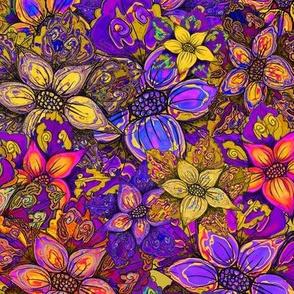 FLOWERS MISH MASH XL  SUNNY DAYS