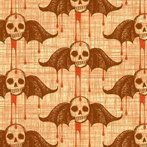 Bleeding Skulls - orange