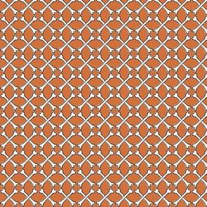 Woven Bones - orange
