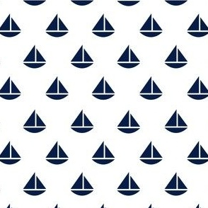 tiny navy boats - Color Update