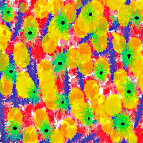 abstract floral - bold