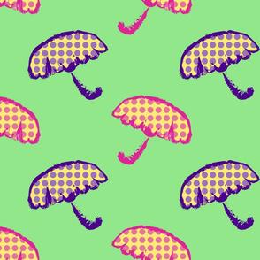 Topsy Turvy Umbrellas
