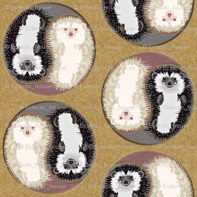 Yin Yang Hedgehogs