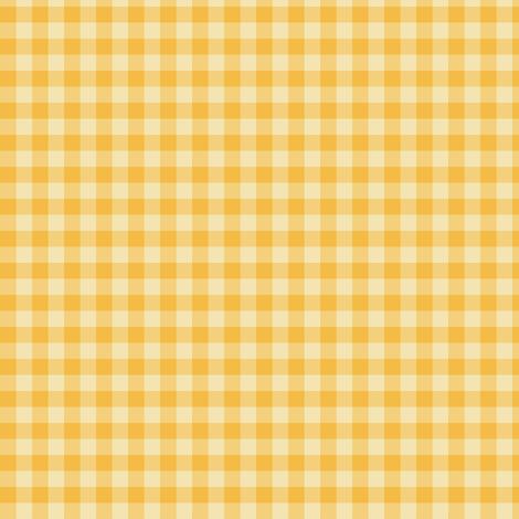 Christmas gold gingham fabric by weavingmajor on Spoonflower - custom fabric