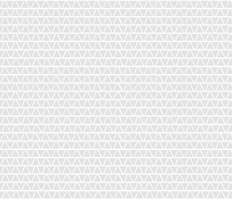 Triangles Rough Grey fabric by mspiggydesign on Spoonflower - custom fabric