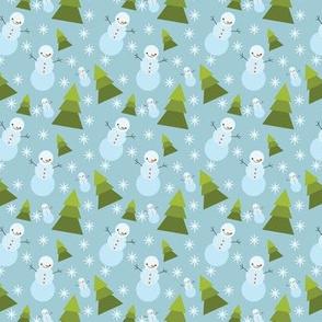 snowman pattern 2