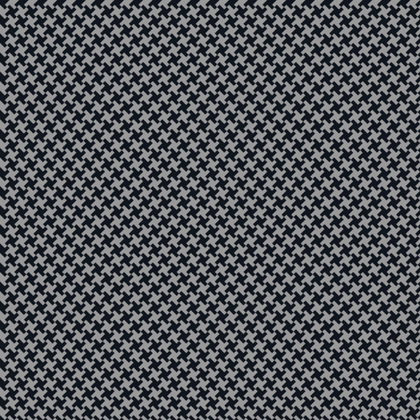 Houndstooth Black&Gray small fabric by juliesfabrics on Spoonflower - custom fabric