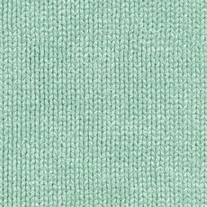 mint green knit