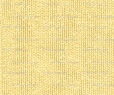 spring daffodil knit