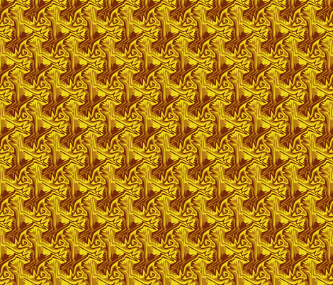 Fallen Leaves fabric by craige on Spoonflower - custom fabric