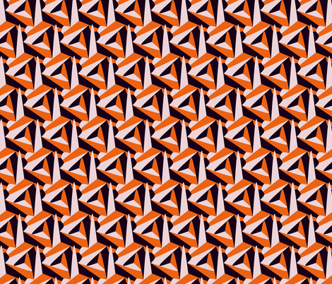 dangerous fabric by craige on Spoonflower - custom fabric
