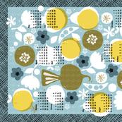 2019 produce tea towel calendar - 27 inch
