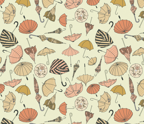 Bumbershoots fabric by abbyhersey on Spoonflower - custom fabric