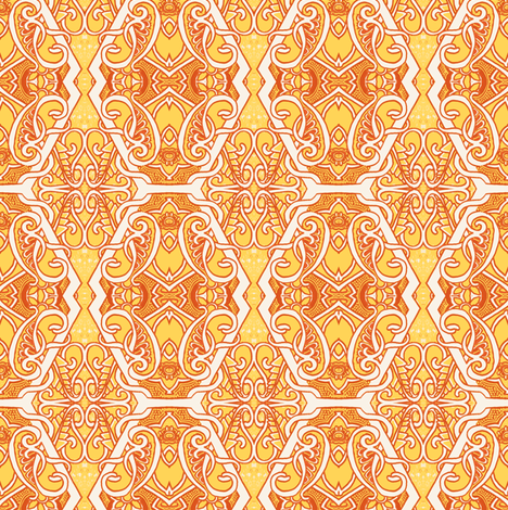 Hot Summer Afternoons fabric by edsel2084 on Spoonflower - custom fabric