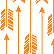 Large Arrows: Orange