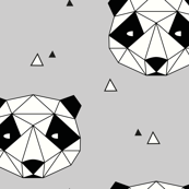 Panda - Gray (Small)