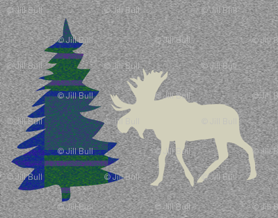 Spruce & Moose ©2014 Jill Bull