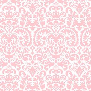 Anna Jacquard white/pink