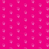Sketchy Skull on Pink