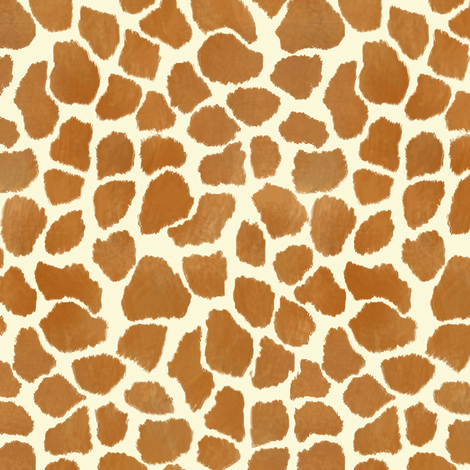 Giraffe Spots fabric by eclectic_house on Spoonflower - custom fabric
