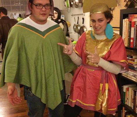 Kuzco Wrap costume