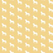 Prancing Unicorn Cupcake Yellow