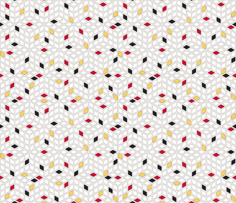 Scattered fabric by whimzwhirled on Spoonflower - custom fabric