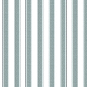 Ticking Stripe, Storm Grey