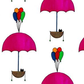 Umbrella Cat