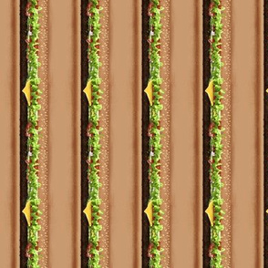 Burger Collar Fabric