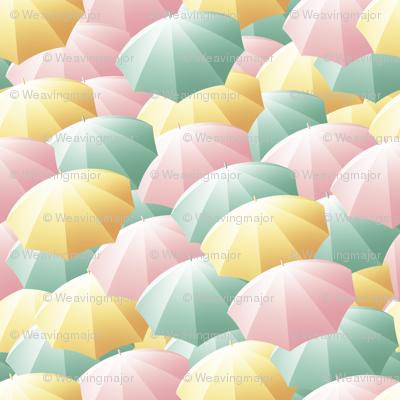 rainy spring rush-hour