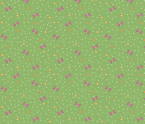 Fall Butterflies fabric by oliveandruby on Spoonflower - custom fabric