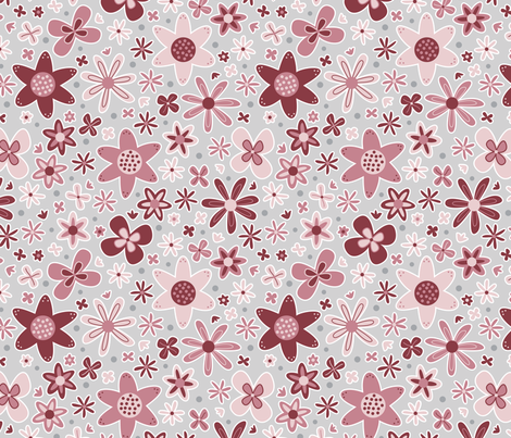 Floral Dance (Spring) fabric by brendazapotosky on Spoonflower - custom fabric