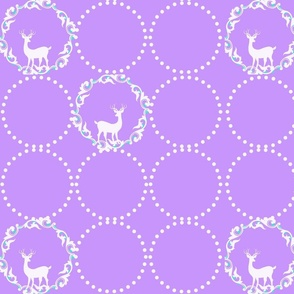Deers and circles