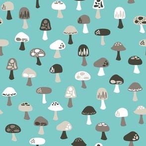 Woodland Mushrooms (cool)