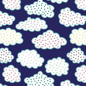 Polka Dot Clouds (March)