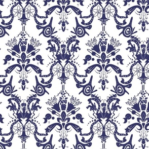 Damask - Cosmic Damask in lavender
